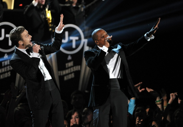 Justin Timberlake  Jay-Z 55th annual Grammy Awards