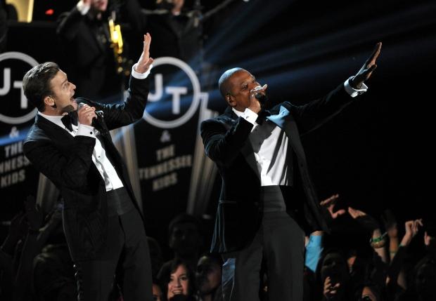 Justin Timberlake  Jay-Z 55th annual Grammy Awards