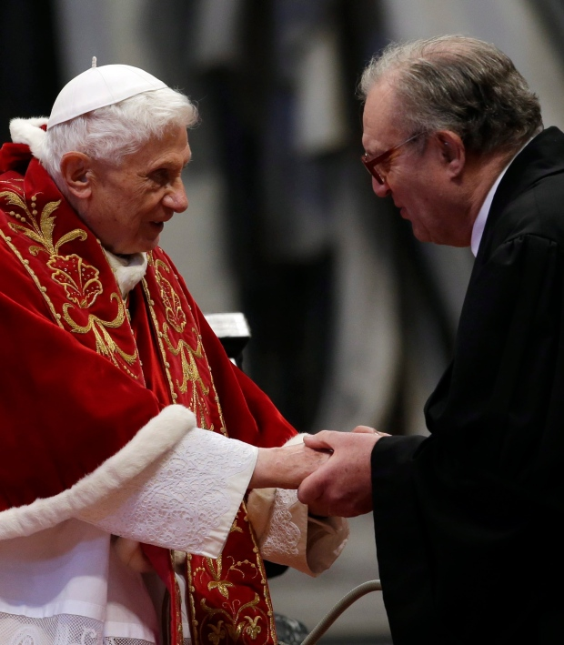 Pope Benedict XVI resignation Feb. 28