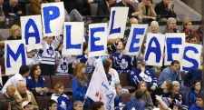 Leaf fans in Ottawa