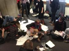 OCAP protest, Mayor Rob Ford, City Hall