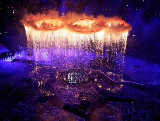 London 2012 Olympics opening ceremony award