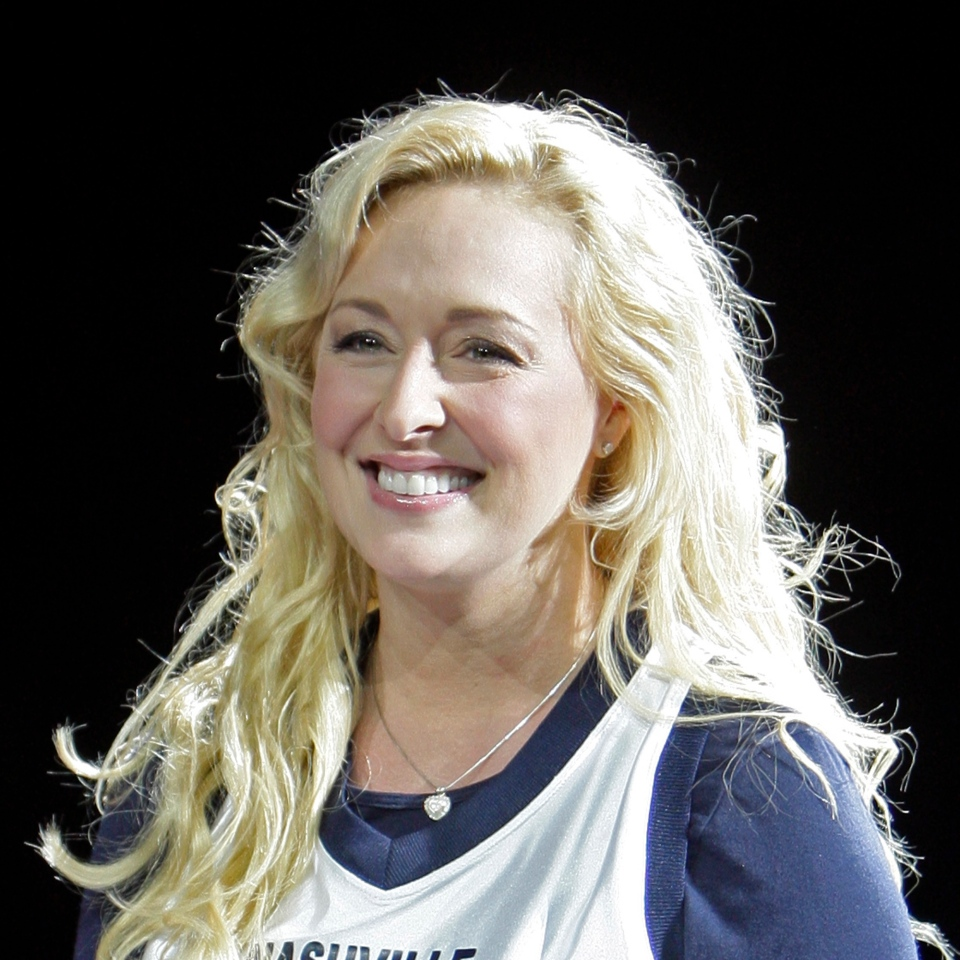 In this Nov. 14, 2008 file photo, country singer Mindy McCready performs in Nashville, Tenn. McCready, who hit the top of the country charts before personal problems sidetracked her career, died Sunday, Feb. 17, 2013. She was 37. (AP Photo/Mark Humphrey, File)