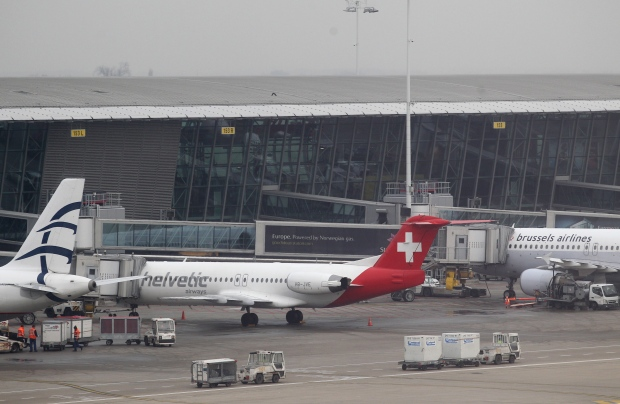 Brussels Belgium airport diamond theft heist