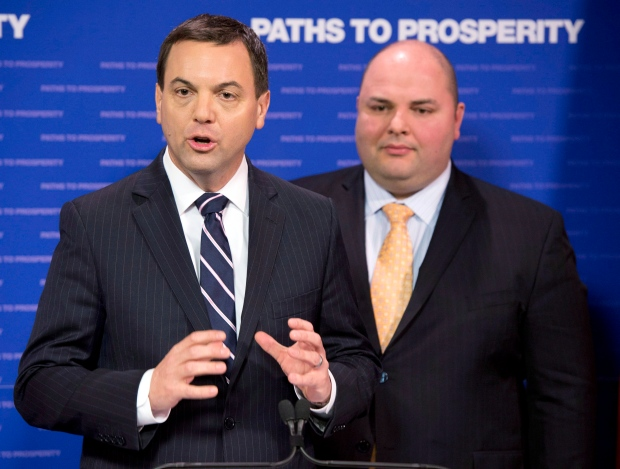 Tim Hudak Tories contempt motion gas plants