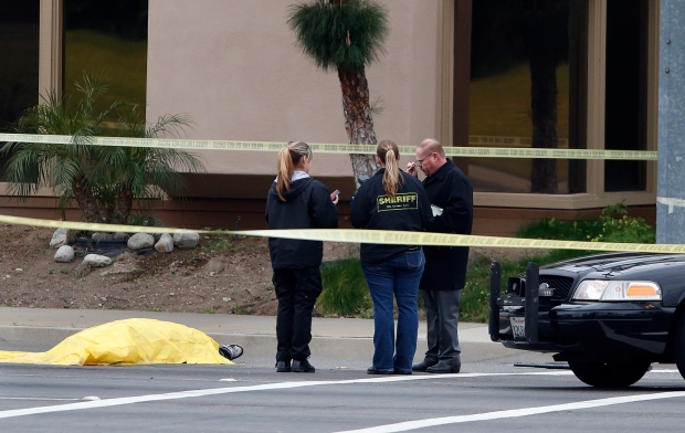 Tustin California shooting spree four killed