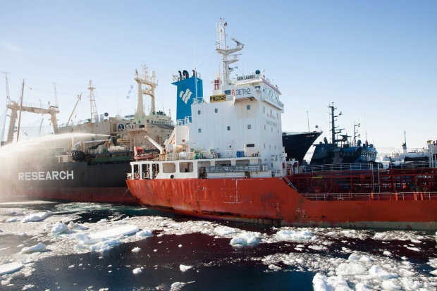 Sea Shepherd whaling boats collide Antarctica