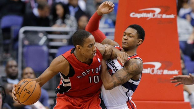 Raptors beat Wizards