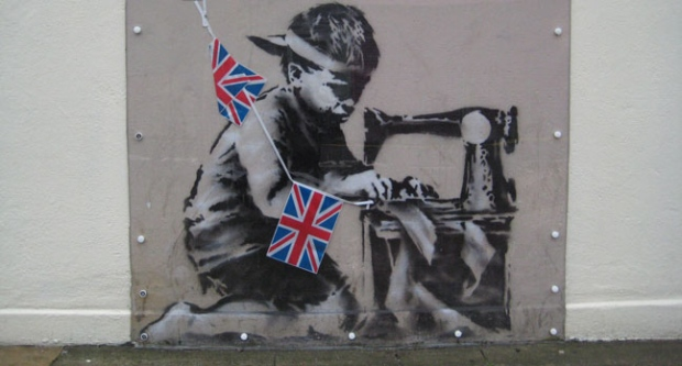 Banksy, Mural, Return