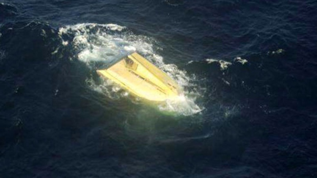 Hull of capsized Miss Ally found