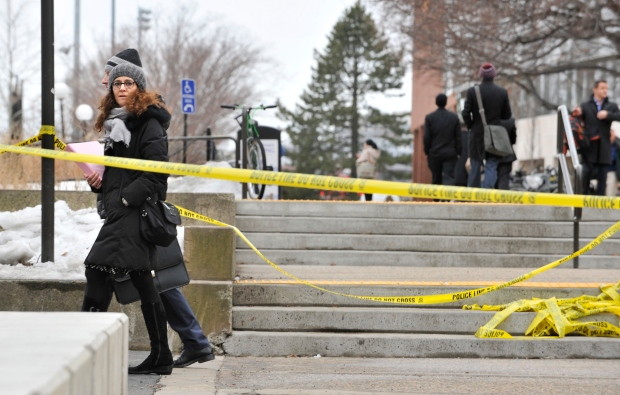 MIT gunman reports a hoax