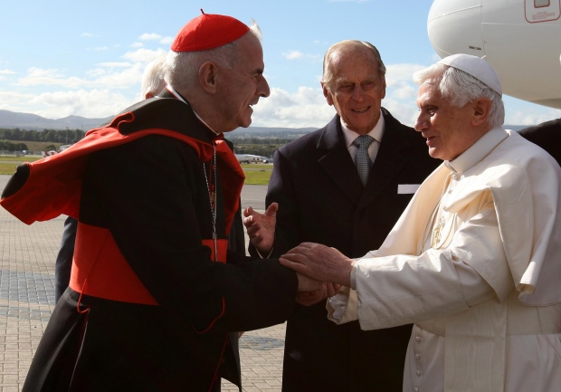 British Cardinal Keith O'Brien resigns conclave