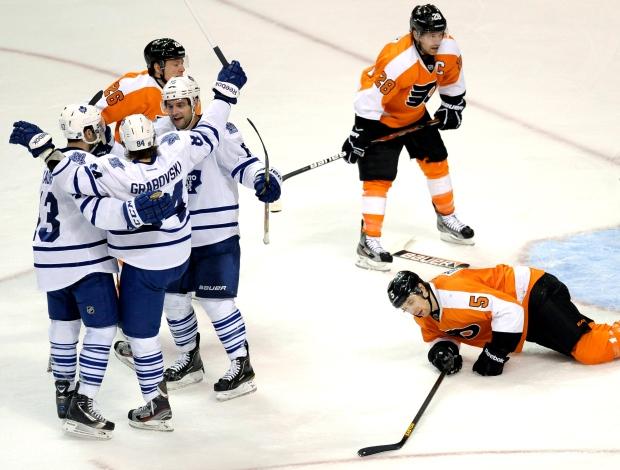 Toronto Maple Leafs' Mikhail Grabovski