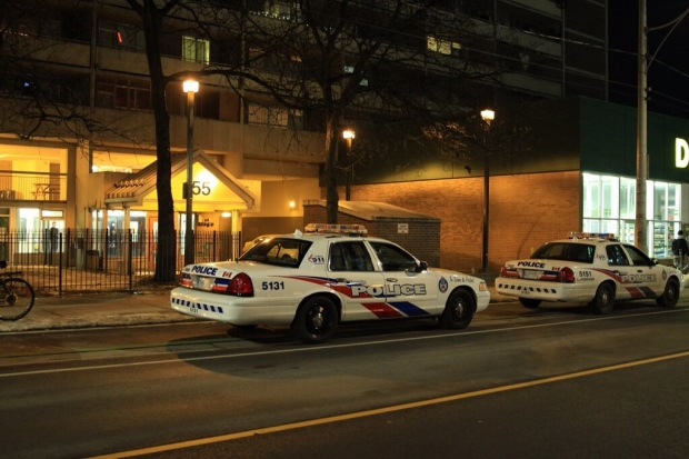 Woman stabbed Sherbourne Street Toronto