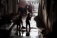Aleppo Syria missiles bombing Human Rights Watch