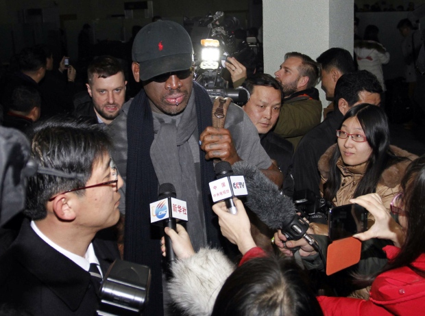 Dennis Rodman basketball visit North Korea