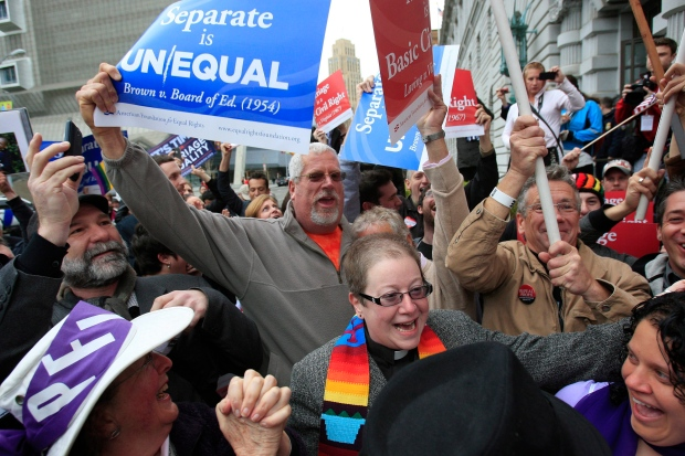 United Stated gay marriage