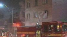 Davenport Road fire