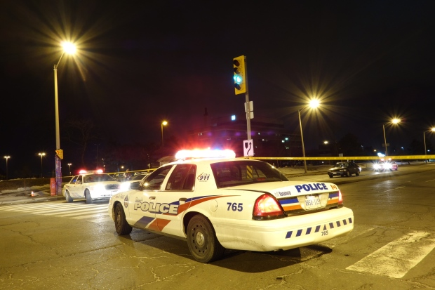 A Toronto police cruiser is pictured in this file photo. (CP24/Tom Podolec)