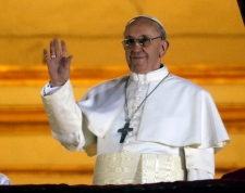 Pope Francis new pope balcony appearance