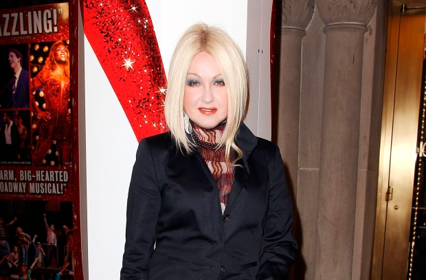 Lauper just wants to have fun as broadway composer for Cyndi lauper broadway kinky boots