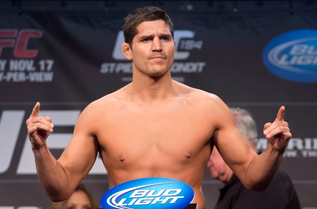 Patrick Cote UFC fighters cut weight