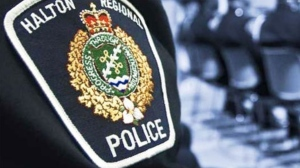 The uniform of a Halton Regional Police officer is pictured in this undated file photo.