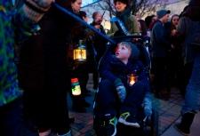 Toronto Earth Hour 2013 Roncesvalles Village