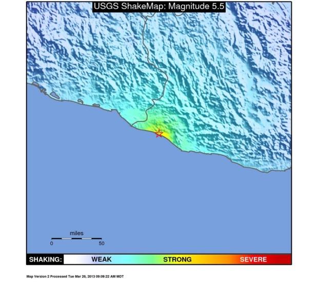 Mexico earthquake shakes buildings Mexico City