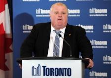 Toronto Mayor Rob Ford