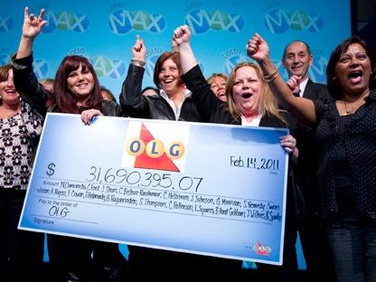 Olg lottery prizes