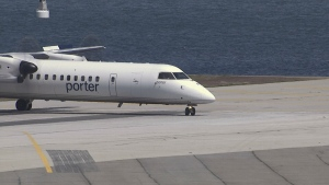 About Porter Airlines 40 flights were grounded and others were delayed because staff could not access a computer database with passenger information and reservation lists.