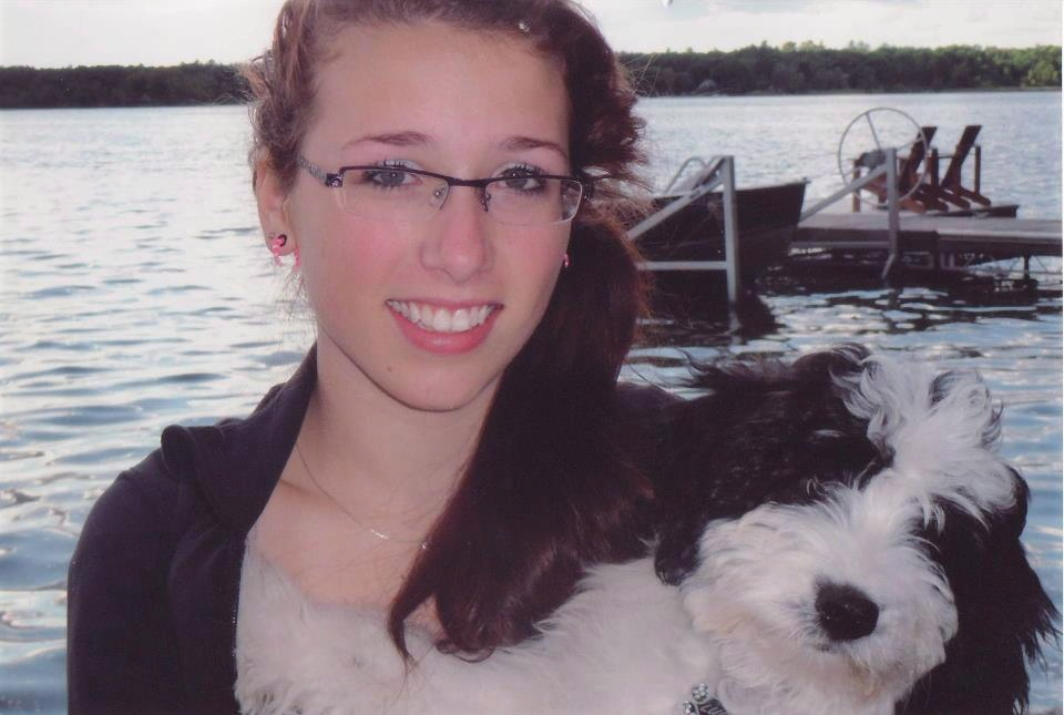 Rehtaeh Parsons is shown in a handout photo from the Facebook tribute page 'Angel Rehtaeh.'