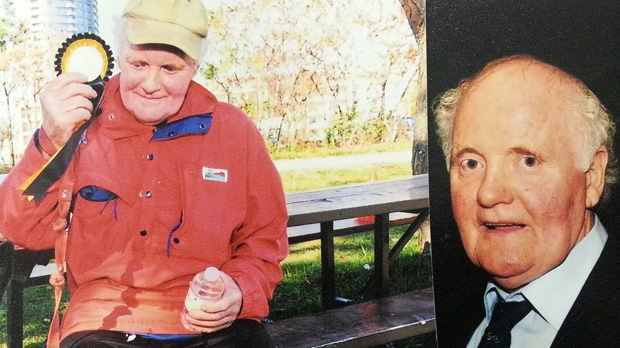 These photos of missing man Michael John Hamill were released by Toronto police.