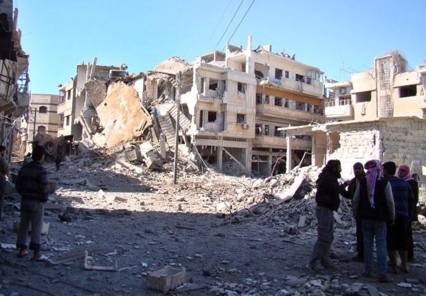 Syrian fighting nears Lebanese border