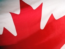 CP24 stock canadian flag