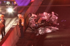 Highway 401 accident