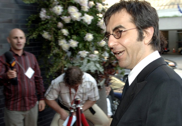 Atom Egoyan arrives at the gala opening of the Four Seasons Centre for the Performing Arts in Toronto on Wednesday, June 14, 2006. (Aaron Harris / THE CANADIAN PRESS)