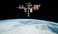 This May 23, 2011, file photo released by NASA shows the International Space Station, taken by Expedition 27 crew member Paolo Nespoli from the Soyuz TMA-20 following its undocking. (AP Photo/NASA, Paolo Nespoli, File)