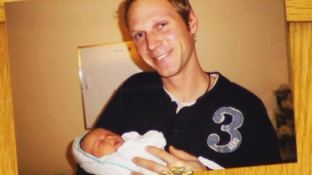 Tim Bosma, who is pictured in this undated handout photo, disappeared on May 6, 2013 after going on a test drive with two people who had arranged to view a pickup truck he was selling through an online classified site. On May 14, 2013, police announced that Bosma had been found dead. Days later, police announced that two men, 27-year-old Dellen Millard and 25-year-old Mark Smich, had been charged with first-degree murder in connection with Bosma's death.