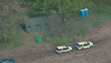 Police search Cambridge farm Tim Bosma