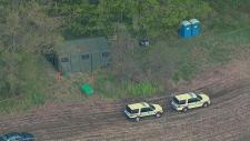 Police search Cambridge farm Tim Bosma