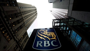 A Royal Bank of Canada sign is pictured in downtown Toronto on Dec. 2, 2011. (The Canadian Press/Nathan Denette)
