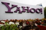 In this April 18, 2011 file photo, Yahoo's logo is displayed outside its offices in Santa Clara, Calif. (AP Photo/Paul Sakuma, File)
