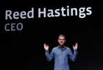 In this Thursday, Sept. 22, 2011, file photo, Netflix CEO Reed Hastings gestures during the Facebook f/8 conference in San Francisco. (AP Photo/Paul Sakuma)