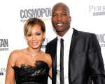 This March 7, 2011 file photo shows Chad Johnson and Evelyn Lozada attending Cosmopolitan Magazine's Fun Fearless Males of 2011 event in New York. (AP Photo/Evan Agostini, file)
