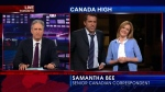 Jon Stewart on 'Canada High'