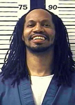 This undated photo provided by the Colorado Department of Corrections shows Nathan Dunlap. Dunlap is on death row for the slayings of four people in a Denver-area Chuck E. Cheese restaurant. He was convicted and sentenced to die in 1996, and his last guaranteed appeal was rejected this year. (AP Photo/Colorado Department of Corrections, File)