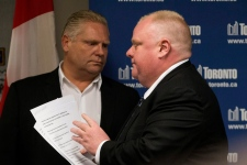 Rob Ford Doug Ford statement city hall