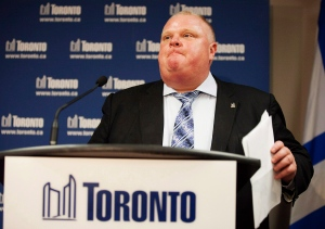 Mayor Rob Ford city hall allegations